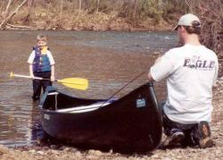 Click to enlarge image  - Kids love floating the River -
